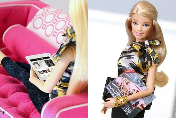 Barbie é blogueira de moda no Instagram