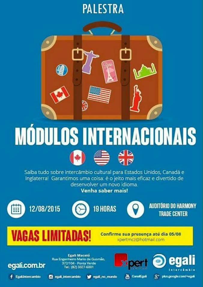 Maceió recebe evento de Intercâmbio