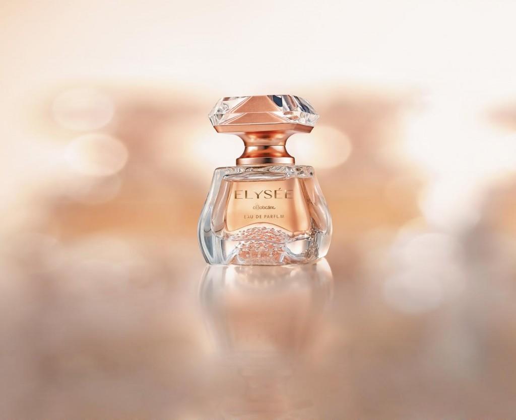 Elysée O Boticário, um eau de parfum em forma de joia