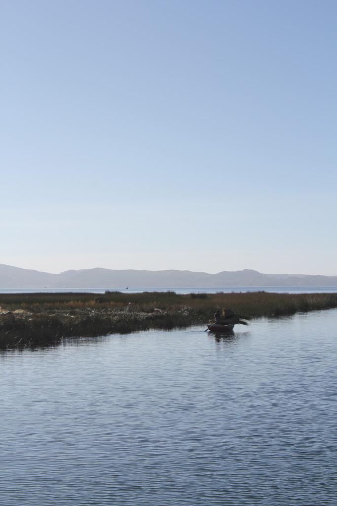 Peru e o Lago Titicaca, o maior lago da América Latina