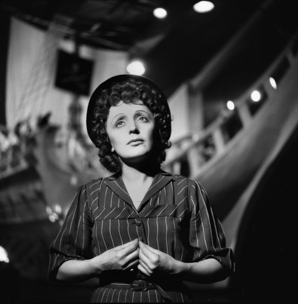 Edith Piaf (1915-1963), French singer.