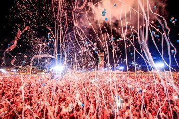 Réveillon Celebration: Fogos, balões e atrações musicais de peso dão as boas-vindas a 2019