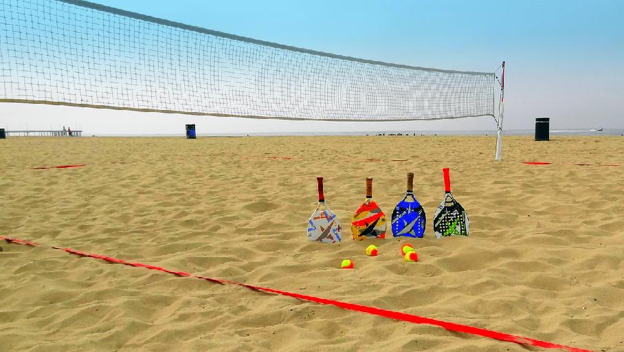 Beach Tennis: esporte que pode ser disputado sozinho ou em dupla - DINO