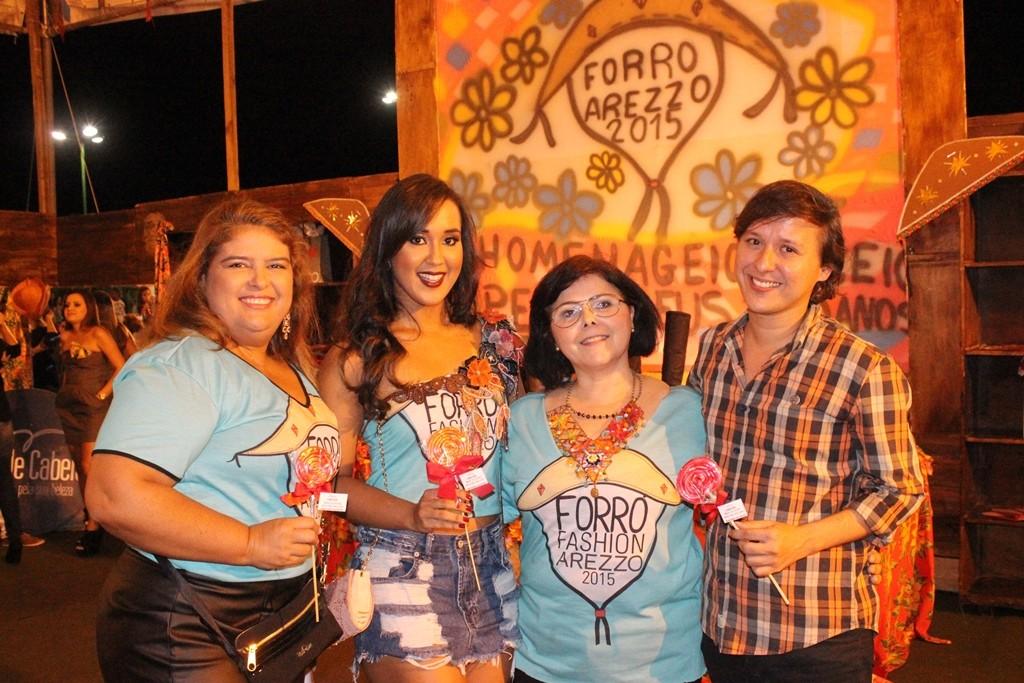 Lara Amorim, Amanda Vas, Elzlane Santos, Marcos Leão